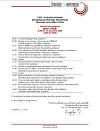 Vabilo in program XXIX. strokovnega sestanka Združenja za arterijsko hipertenzijo